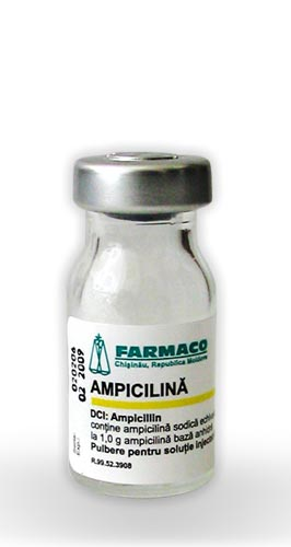 AMPICILLIN POWDER   FARMACO   Local Goods Made In Moldova